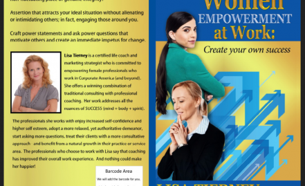 Women EMPOWERMENT at Work: Create Your Own Success By Lisa Tierney, CLSC