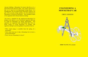 Engineering a Mousetrap Car Paperback by P E Jerry Yeaney (Author)
