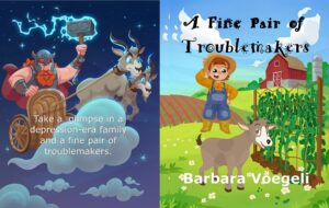 A Fine Pair Of Troublemakers by Barbara Voegeli